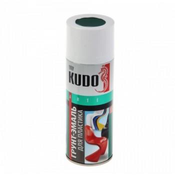 Грунт-эмаль для пластика Kudo черная, 0,52л