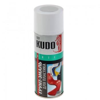 Грунт - эмаль для пластика Kudo светло-серая, 0,52л