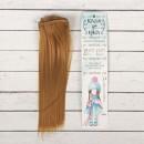 """Волосы для кукол """"Прямые"""" длина 25 см, ширина 100 см (552406)"""