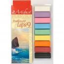 Пластика - полимерная глина набор LAPSI PEARLESCENT 9 перламутровых цветов 180г