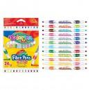 """Двухсторонние фломастеры """"Fibre Pens. Duo colours."""", 12 шт/24 цв. CL32353PTR"""