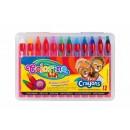 Мелки для грима Colorino с пластиковым держателем,12 цветов CL32650PTR