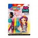 Набор грима для волос Colorino, 5 металлических цветов CL68680PTR