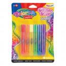 """Краска по стеклу """"Радуга"""" Colorino (контурный клей), тюбики 10,5 мл 6 цветов в блистере CL68796PTR"""