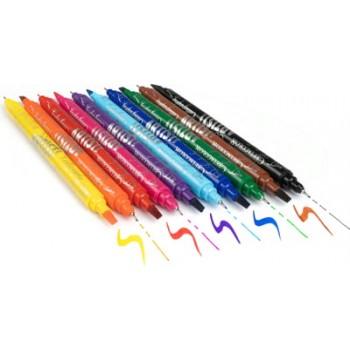 """Набор двухсторонних маркеров """"Artist Studio Line"""" для каллиграфии с тонким и скошенным, 10шт CC445 10"""