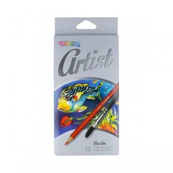 """Акварельные карандаши """"Colorino""""  """"Artist"""" 12 цв. CL65528PTR"""