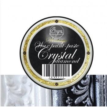 """Краска-паста восковая, VINTAGE """"Crystal diamond"""" ScrapEgo 10мл."""