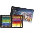 Акварельные профессиональные пастельные мелки, 24  цвета в картонной коробке MGMAC24