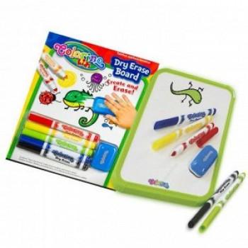 Набор д/творчества (доска для маркеров, маркеры для доски 5 цветов, губка для стирания) CL65795PTR