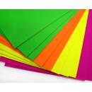 Набор фетра неон Флуоресцентный 10 листов