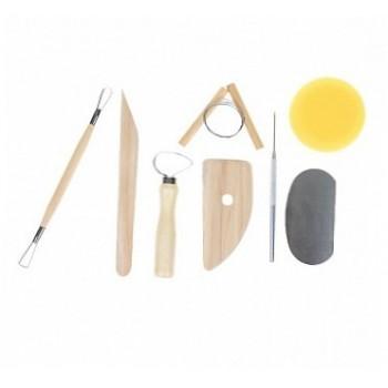 Набор инструментов для лепки 8 предметов 1295252 1099998