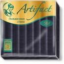 Artifact Glitter с эффектом блёстки чёрный 291