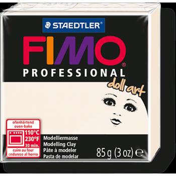 Пластика - полимерная глина FIMO Professional Doll art  85г полупрозрачный фарфор (8027-03)