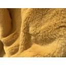 """Мех """"Мутон"""" средний ворс 50 см*56 см 100% п/э цв.горчичный (901664)"""