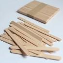Лопаточки для перемешивания, деревянные. 11*1см 50шт