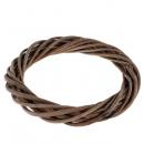 Венок из лозы 25 см (SF-2418) коричневый №2