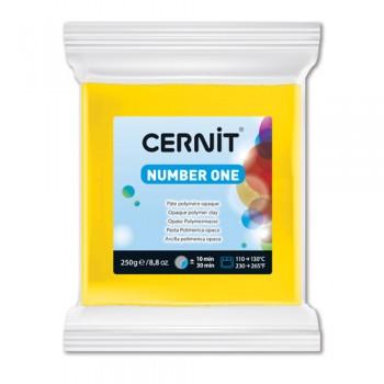 """Пластика """"Cernit № 1"""" 250 гр. 700 желтый"""