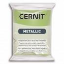"Пластика ""Cernit Metallic"" 56 гр. 051 зеленое золото"