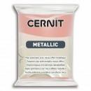 "Пластика ""Cernit Metallic"" 56 гр. 052 розовое золото"