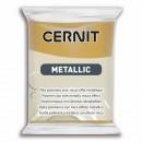 "Пластика ""Cernit Metallic"" 56 гр. 053 темное золото"