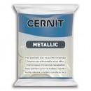 """Пластика """"Cernit Metallic"""" 56 гр 200 синий"""