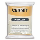 "Пластика ""Cernit Metallic"" 56 гр 050 золото"