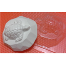 Форма для мыла Черепашка на камне 004