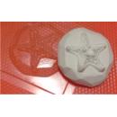 Форма для мыла Звезда на камне 009