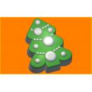 Форма для мыла елка нарядная 221