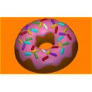 Форма для мыла пончик 390