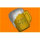 Форма для мыла кружка пива 392
