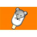 Форма для мыла Мороженое Мышка 576