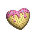Форма для мыла Вкусное сердце 609