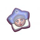 Форма для мыла Снегурочка звезда 662