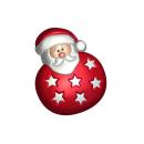 Форма для мыла Санта игрушка 664