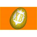 Форма для мыла Яйцо Христос Воскрес 415