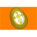 Форма для мыла Яйцо крестик 416