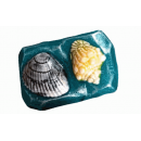 Форма для мыла Ракушки на камне 006