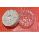 Форма для мыла Монета 031