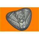 Форма для мыла Мото череп 434