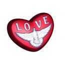 Форма для мыла Сердце голубь 681