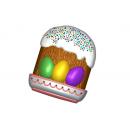 Форма для мыла Кулич с яйцами 723