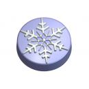 Форма для мыла Снежная шайба 182