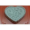 Форма для мыла Сердце винтаж 238