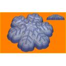 Форма для мыла Снежинка 378
