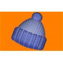 Форма для мыла Вязанная шапка 491