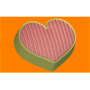 Форма для мыла Вязанное сердце 515