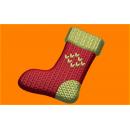 Форма для мыла Вязанный носок 516