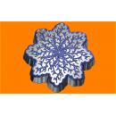 Форма для мыла Снежинка ветвистая 534