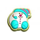 Форма для мыла Снежок 611